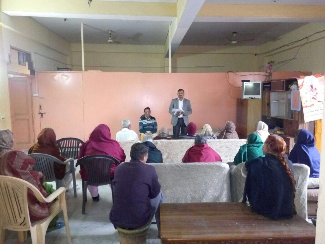 "Legal Awareness Programme on the topic of ""Benefits to Senior Citizens"