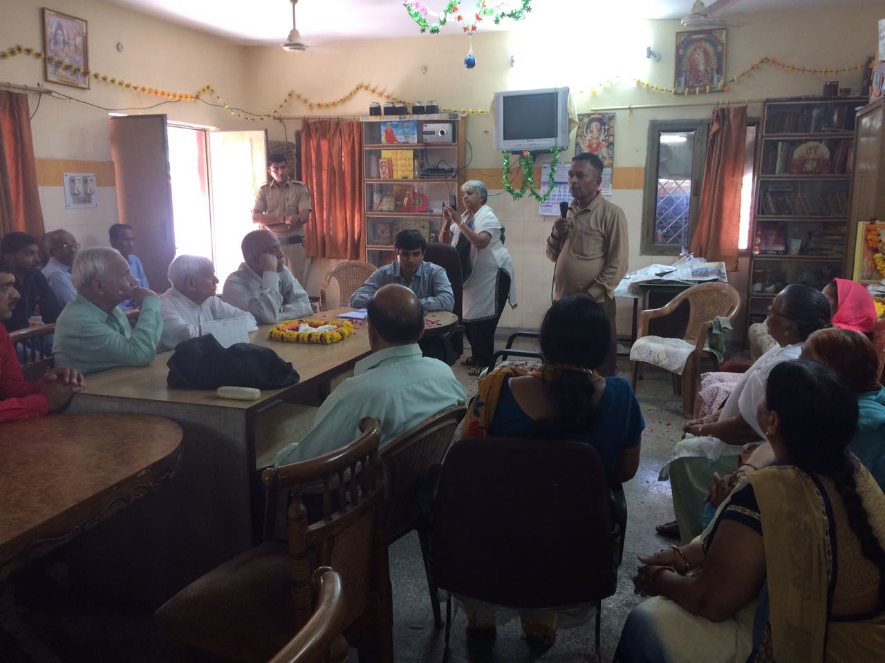"Central DLSA organized Legal Awareness Programme on "" Benefits to Senior Citizens regarding various schemes for pension Scheme and under Senior Citizens act 2007."
