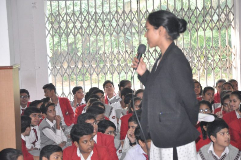 Central DLSA organised puppet show on POCSO Act on 22-11-2017 at Ramjas School, Karol Bagh, Delhi. Students below 14 Years of Age were made about Sexual Offences and Protection from such Offence through Puppeet Show.