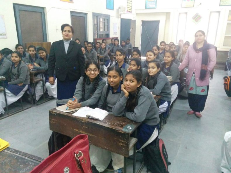 Central DLSA organised Legal Literacy Class at SKV-Kedar Building, Subzi Mandi, Delhi on 20-12-2017