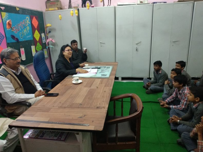 Central DLSA organised a Legal Literacy Class conducted by Ms. Anju Agarwal at GBSSS, E-Block Kamla Nagar