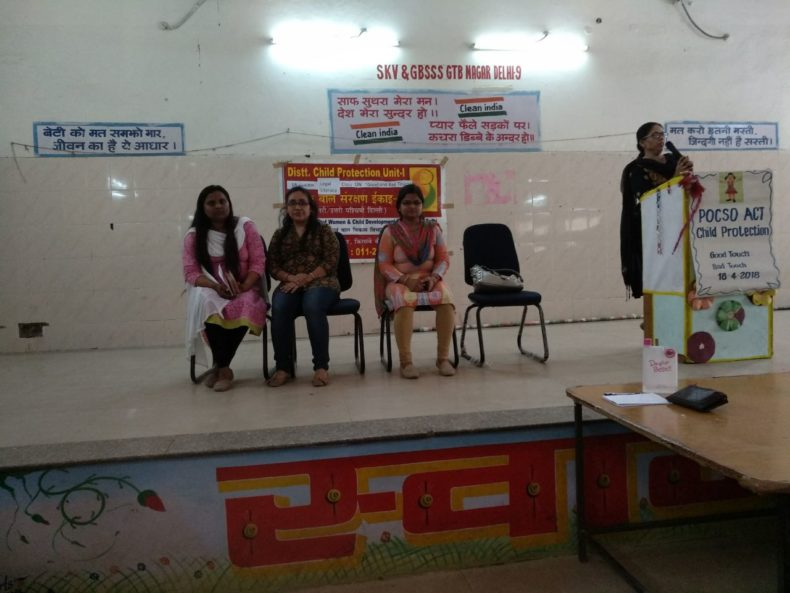 Central DLSA organised Legal Literacy Class by CDLSA Panel Advocate Ms. Nahed Anjum.