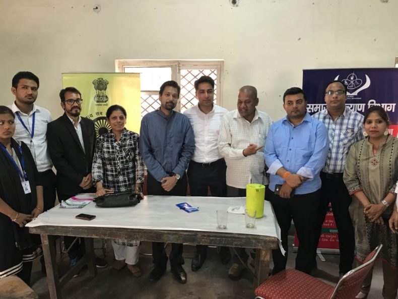 Central DLSA in coordination with Department of Social Welfare, Govt of NCT of Delhi organised free legal aid and pension camp