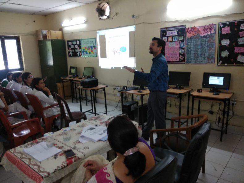 Central District Legal Services Authority Organised a Legal Literacy Class in SKV, Bulbuli Khana, Asaf Ali Road
