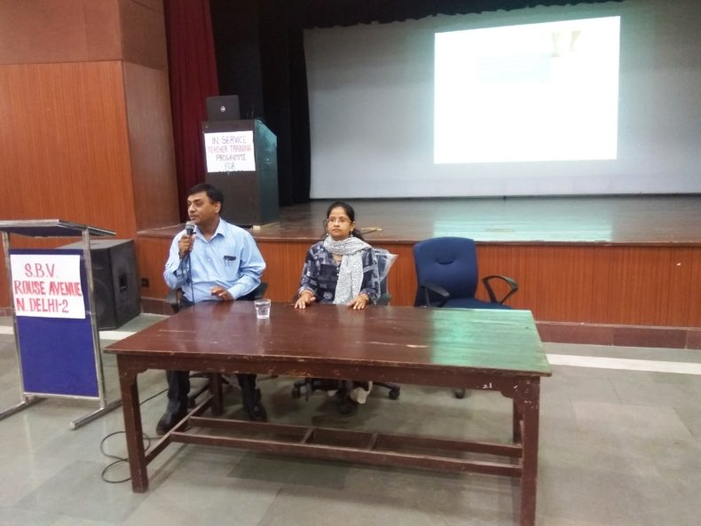 "Central DLSA held Legal Literacy Class in Sarvodaya Bal Vidyalya, Rouse Avenue on 08-07-2018 on the topic of ""Sexual Violence"" and POCSO Act"