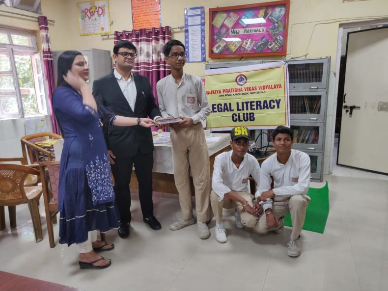 In the observance of Independence Day CDLSA organised Quiz competition in 3m school on 13/08/2018