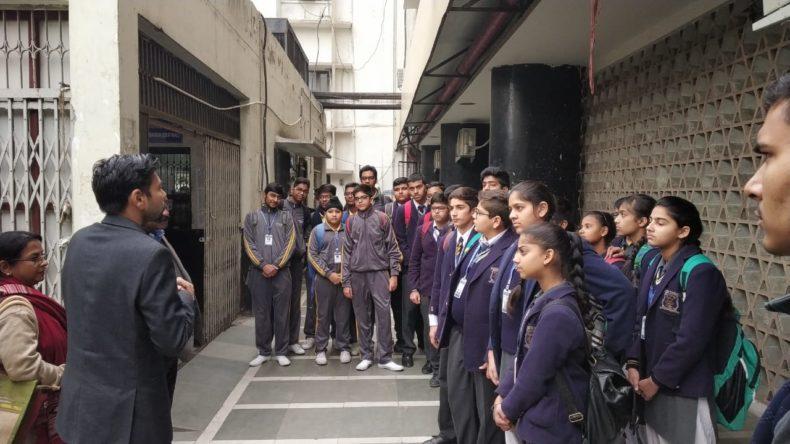 CDLSA organised school visit for students of St. Michel Senior Secondary School, Pusa Road Karol Bagh Delhi on 31.01.2019