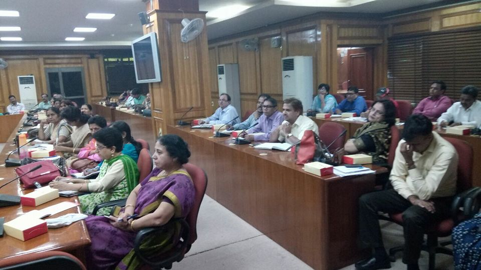 DLSA East in association with d office of DDE East organised a Sensitization Programme for d Principals of around 88 Govt Schools of East District on 17.10.2016 at 2:00 PM at Conference Room, Karkardooma Courts, regarding Mass Legal Literacy Campaign. DDE East and all d Principals of schools have agreed and assured to extend full cooperation to make the campaign a great success. The Programme was covered by d media also.