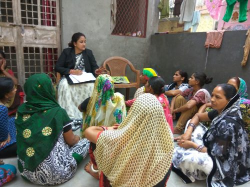 """DLSA (East) in association with """"Amba Foundation"""" conducted an Awareness Programme at Community Level on 08.08.17 on the topic """"Domestic Violence  and NALSA (Legal Services to the Workers  in the Unorganized sectors Schemes, 2015"""" by deputing  Ms. Seema Aggarwal,  LAC (DLSA)/East as Resource Person.  Resource Person addressed the participants on the topics and also had interactive session with them.  The programme was appreciated by all concerned."""