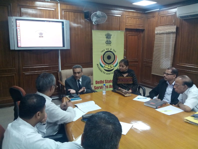 """Monthly Training Programme of Criminal (MM), Session Panel, Civil, ADJ, & Family Panel Advocates, conducted on 31.07.2017                DLSA East has organized the monthly training programme for all the Legal Aid Counsels of DLSA East on 31th July  2017. Sh. Nariender Kumar, Ld. AD & SJ (East),   had kindly consented to grace the occasion with his esteemed presence as Resource Person and delivered the lecture and interactive session with the participants on """"Family Laws"""".  The participants appreciated the programme."""