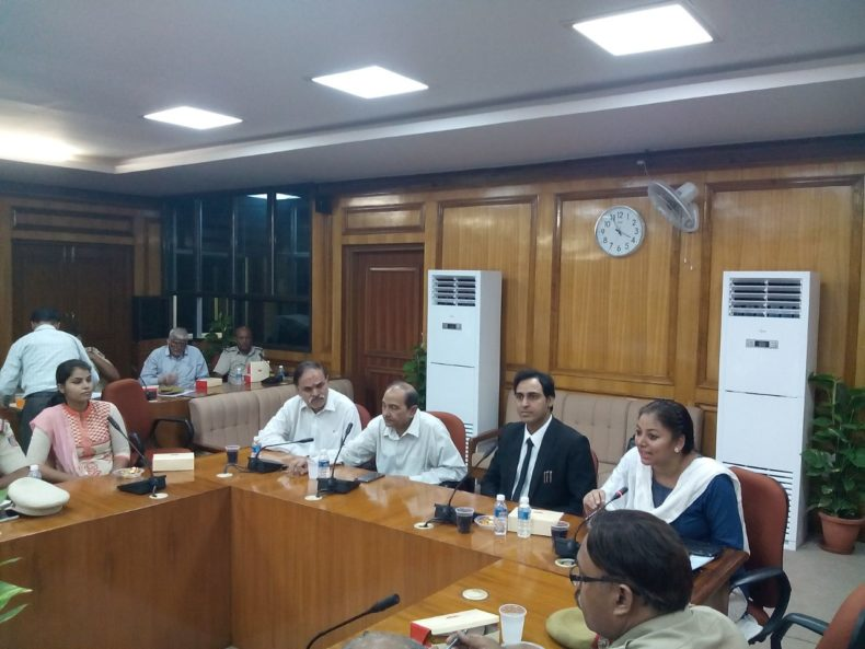 """Sensitisation-cum-Training Programme on """"Electronic Evidence & Mode of Proof"""" for Police Officers including ACPs, SHOs, SIs, ASIs and IOs of East District on 08.09.2017 at 02:30 pm at Conference Hall, 3rd, Floor, Karkardooma Courts, Delhi in the august presence of Sh. Rakesh Tewari, Ld. D & SJ (East) and Sh. A. S. Jayachandra Ld. D & SJ (North-East). Sh. N. K. Laka, Ld. CMM (East) was the Resource Person for the same who delivered lecture and had interactive sessions with the participants. The Progarmme was also graced by the presence of Addl. DCP (East) and Addl. DCP (North-East). Ms. Bhawani Sharma, Secretary DLSA (East) welcomed the gathering and also tendered vote of thanks. The prog. was also covered by the esteemed media. The prog. was appreciated by all concerned."""