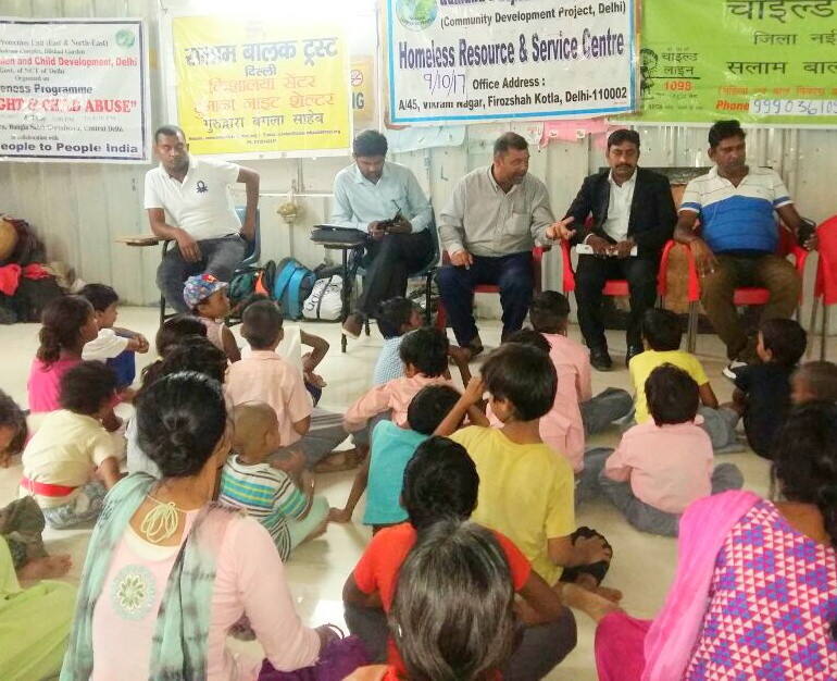"""DLSA East in association with DCPU East organised an Awareness Programme on """"Child Abuse"""" at Gurudwara Bangla Sahib on 09.10.2017 by deputing Sh. Shashi Kant, LAC as Resource Person.  The programme was appreciated by all concerned."""