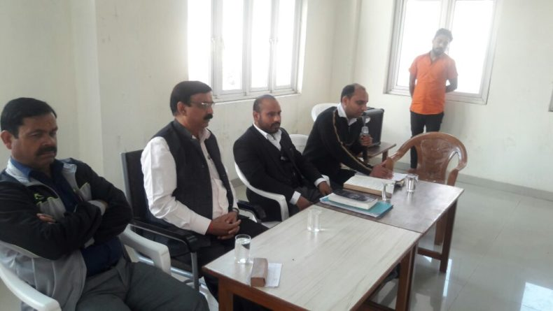 """DLSA East in association with Jail Authorities organised an Awareness Programme on d topic """"Important provisions under Constitution of India"""" on 25.11.2017 for d inmates of Mandoli Jail No.11, 12 in compliance of the directions of DSLSA to celebrate Constitutional Day by deputing Sh Raman Chhatwal, Legal Aid Counsel as Resource Person.  The programme was attended by a good number of jail inmates and Jail Authorities."""