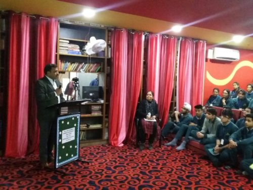 """In compliance of directions of DSLSA, with a view to create Awareness amongst school students and to sensitize them, DLSA (East) organized an Awareness-cum-Sensitization Programme on the topic """"Sexual Violence Module""""  at Bharti Public School Swasthya Vihar, Delhi on 01.12.2017 at 12:00 pm for a large number of school students. Sh. Pawan Kumar, Secretary (DLSA)/East himself attended the programme as Resource Person addressed the students on the subject through lectures, Power Point Presentation and interaction.  Students were very enthusiastic in making queries with the Resource Persons which were satisfactorily responded to by the Resource Persons.  The programme was appreciated by all concerned."""