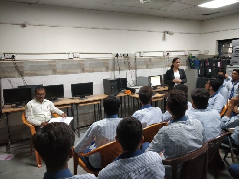 "In compliance of directions of DSLSA, DLSA (East) in association with District Education Authorities organised an Awareness-cum-Sensitization Programme at ""GBSSS, New Ashok Nagar, Delhi  for the students of the school on ""Sexual  Violence  Module"" on 07.08.2018.  Ms. Sonal Chauhan (DLSA)/East was the Resource Person for the programme who addressed a big number of  students through lectures, PPTs, Videos etc. and had interaction with them."