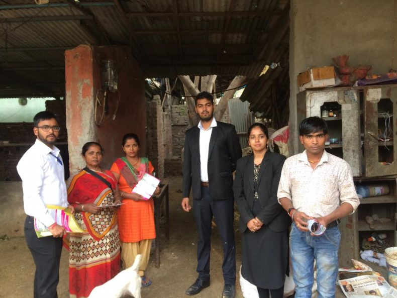"""In compliance of directions of Delhi State Legal Services Authority and as directed by the Ld. District & Sessions Judge/Chairman (DLSA)/East, to celebrate """"National Legal Services Day"""" ,   with a view to create awareness amongst masses at down trodden areas  of East District,  this Authority has Launched  a Ten days (15 Prog.) """"Door to Door Campaign"""" from 15.11.2018 to 24.11.2018.  During the campaign,  a team consisting of  Ms. Payal Raghav,  LAC & Sh. Rishikesh, PLV & Sh. Rohan Sharma, PLV  visited Safeda Jhuggi, P.S. Geeta Colony, Delhi  and distributed pamphlets, booklets and had interaction with the general public on 19.11.2018."""