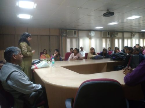 """DLSA (East) in association with Authorities of Ambedkar Polytechnic Institute, Shakapur, Opposite Madhuban, Delhi -110092 organised  an Awareness-cum-Sensitization Programme on the topic  """"Prevention of Sexual Harassment against Women at Workplace & Services being provided by DLSA"""" on 12.03.2019 at Institute premises itself by deputing Ms. Shilpa Dalmia, Advocate as Resource Person."""