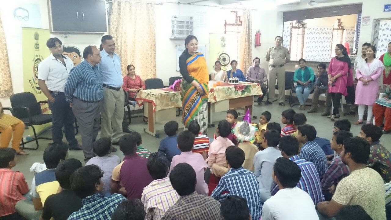 DLSA East organized awareness programme for children, their parents and staff on the occasion of would no tobacco day today in Sanskar Ashram Dilshad Garden to draw attention to the widespread prevalence of tobacco use and negative health effects which currently lead to nearly 6 billion deaths each year worldwide.