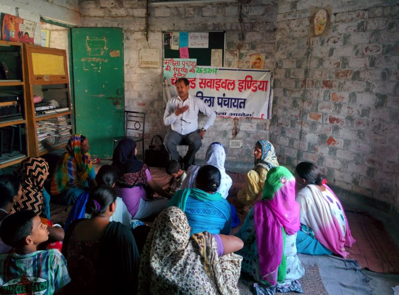 Legal Literacy programme at Child Survival India (NGO)
