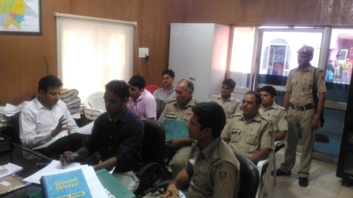 Legal Literacy Programme at Shahbad Dairy Police Station.