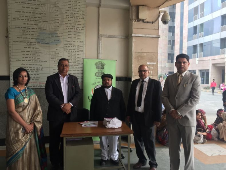 North DLSA, Rohini Courts organized a Legal Assistance Desk has been established at  Rohini Court Complex.