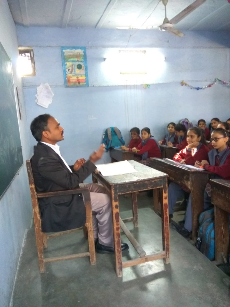 Legal Literacy Programme at RSLN Saraswati Girls sr. sec. School katra Neel chandni chowk,Delhi.
