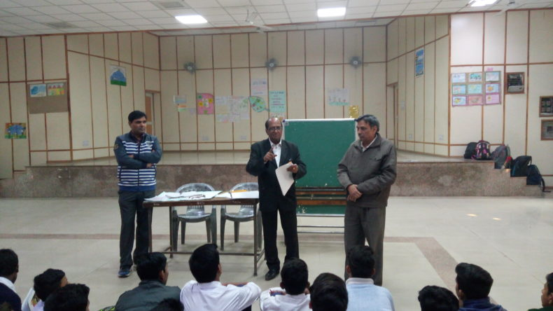 Legal Literacy Programme at SBV Rana Pratap Bagh, Delhi.