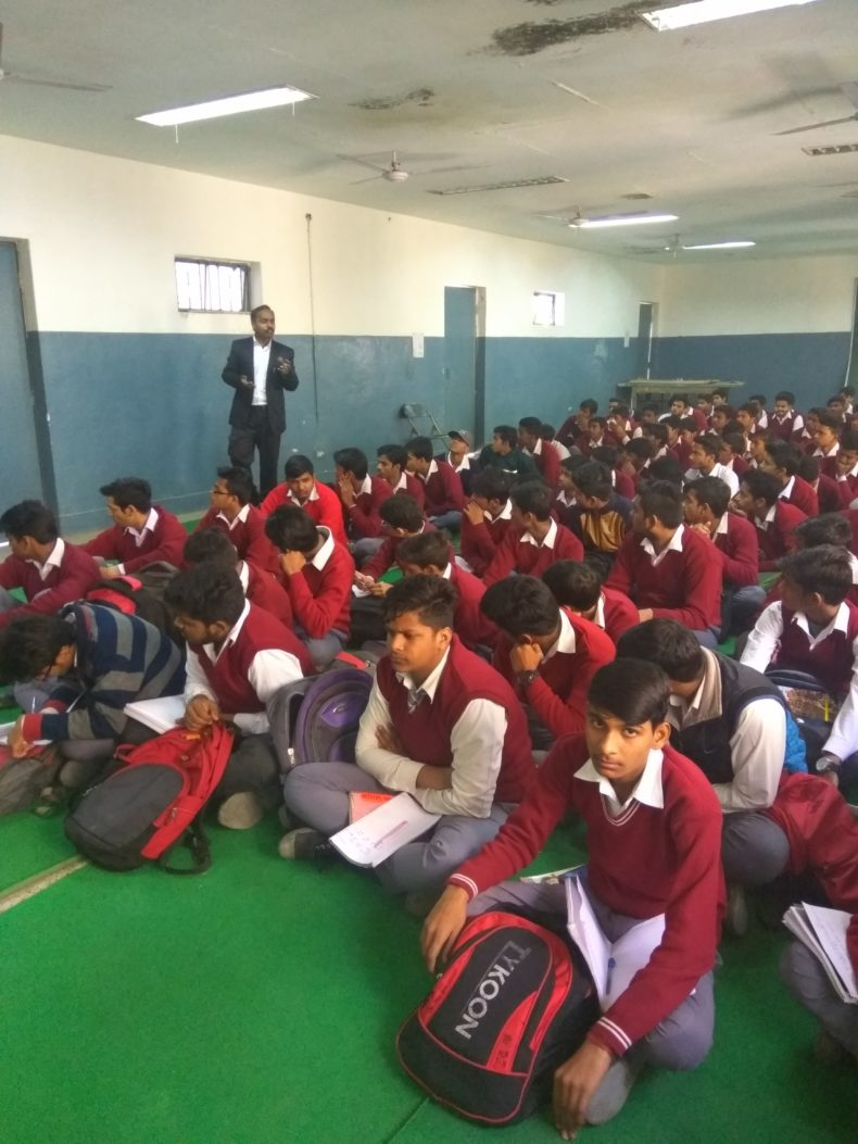Legal Literacy Programme at Govt. Girls Sr.Sec.School, Narela,Delhi.