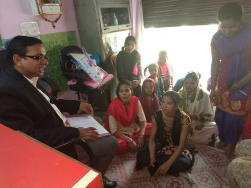 North DLSA, Rohini Courts organized a Legal Literacy Programme at Aradhna NGO