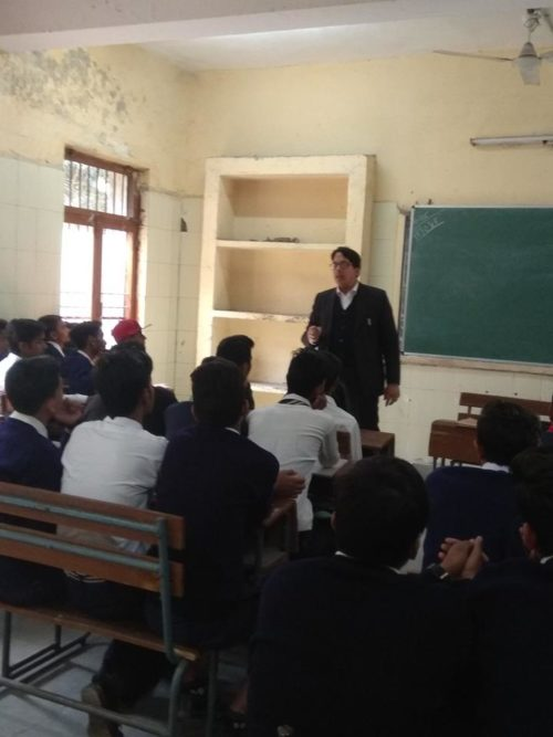 North DLSA, Rohini Courts organized a Legal Literacy Programme on Govt. Boys Sr. sec. School, Sarai Rohilla, Delhi.
