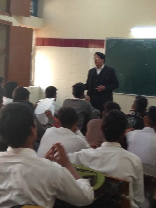 North DLSA, Rohini Courts organized a Legal Literacy Programme Govt. Boys Sr. sec. School,Padam Nagar, Delhi.