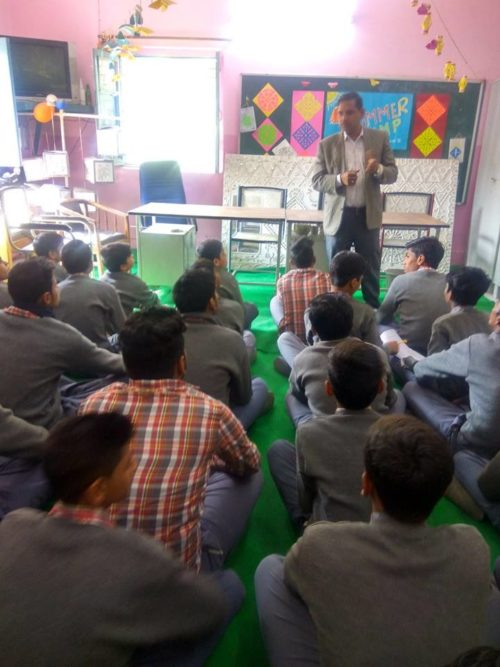 North DLSA, Rohini Courts organized a Legal Literacy Programme at Govt. Boys Sr. Secondary School. E Block Kamla Nagar, Delhi