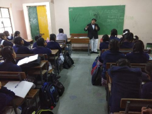 North DLSA, Rohini Courts organized a Legal Literacy Programme at Sarvodya Vidyalya, Lancer Road,Delhi