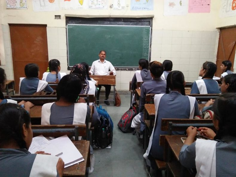North DLSA, Rohini Courts organized a Legal Literacy Programme at Govt. Girls Senior Secondary School,Tulsi Nagar,Delhi