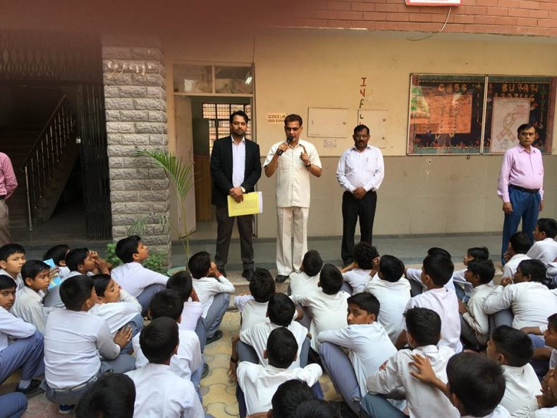 North DLSA, Rohini Courts organized a Legal Literacy Programme at govt boys Secondary School, Burari,Delhi.