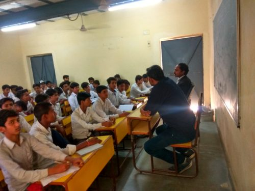 North DLSA, Rohini Courts organized a Legal Literacy Programme  at Government Boys Senior Secondary School, JJ colony Bawana,Delhi.