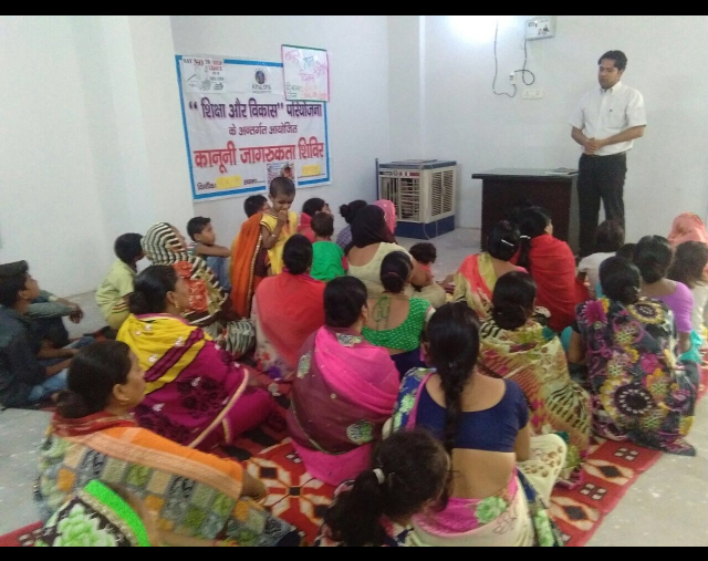 DLSA, Rohini Courts organized a Legal Literacy Programme on at Khushi NGO, Radha Vihar, Mukundpur, Delhi.