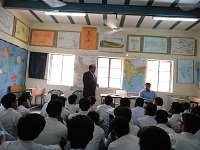 DLSA, Rohini Courts organized a Legal Literacy Programme at Government Boys Senior Secondary School, Badli,Delhi.