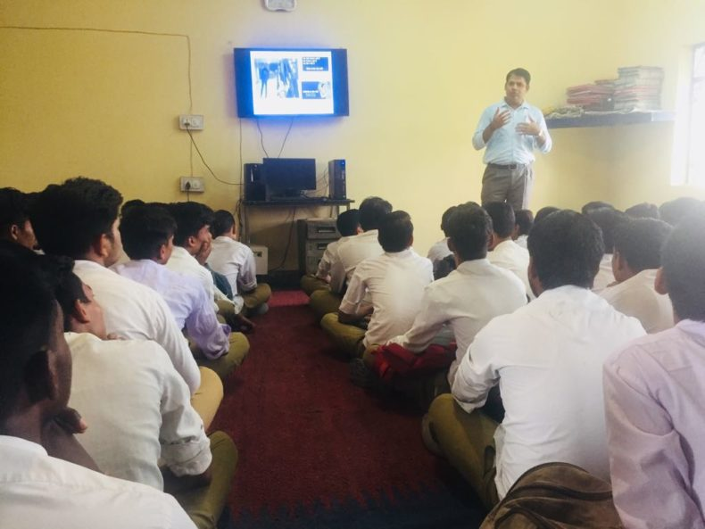 DLSA, Rohini Courts organized a Legal Literacy Programme at Government Boys Senior Secondary School, Libaspur, Swaroop Nagar,Delhi