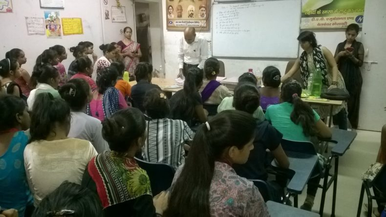 DLSA, Rohini Courts organized a Legal Literacy Programme  at DAV youth club P-4 TPDDL , Sultanpuri , Delhi.
