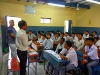 DLSA, Rohini Courts organized a Legal Literacy Programme  at Govt. Boys Senior Secondary School, Azadpur Colony, Delhi