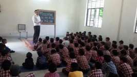 DLSA, Rohini Courts organized a Legal Literacy Programme at MC Primary Boys Shcool, Vill Dariya pur,Delhi.