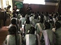 DLSA North, Rohini Courts organized a Legal Literacy Programme  at Sarvodya Kanya Vidyalya, Jhangirpuri, Delhi. Delhi.