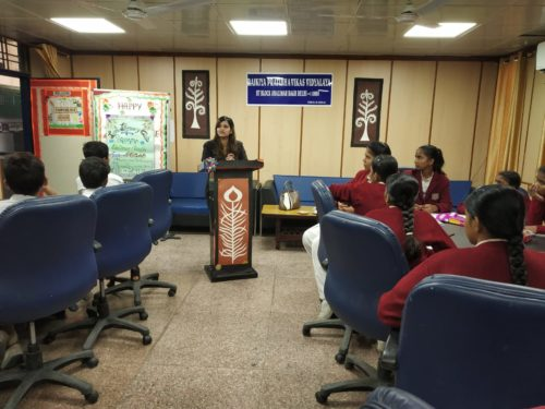 DLSA North, Rohini Courts organized a Legal Literacy Programme  at RPVV, Shalimar Bagh, Delhi.