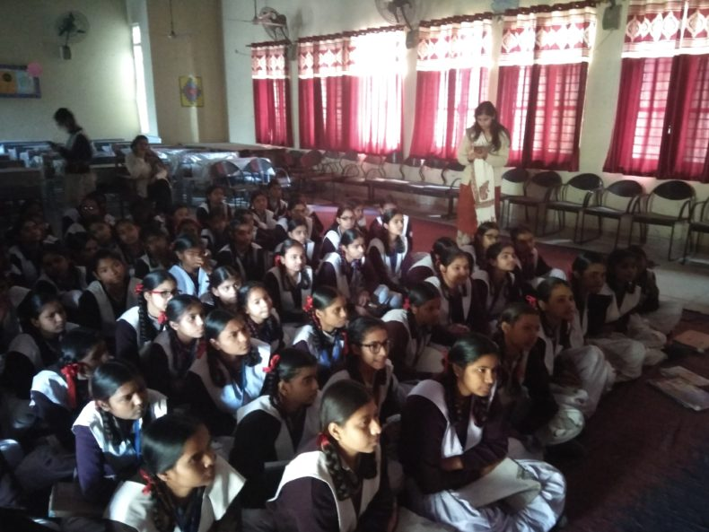 DLSA North, Rohini Courts organized a Legal awareness Programme  at Sarvodya Kanya Vidyalya, Baba Nane Nath, Khera Kalan,Delhi