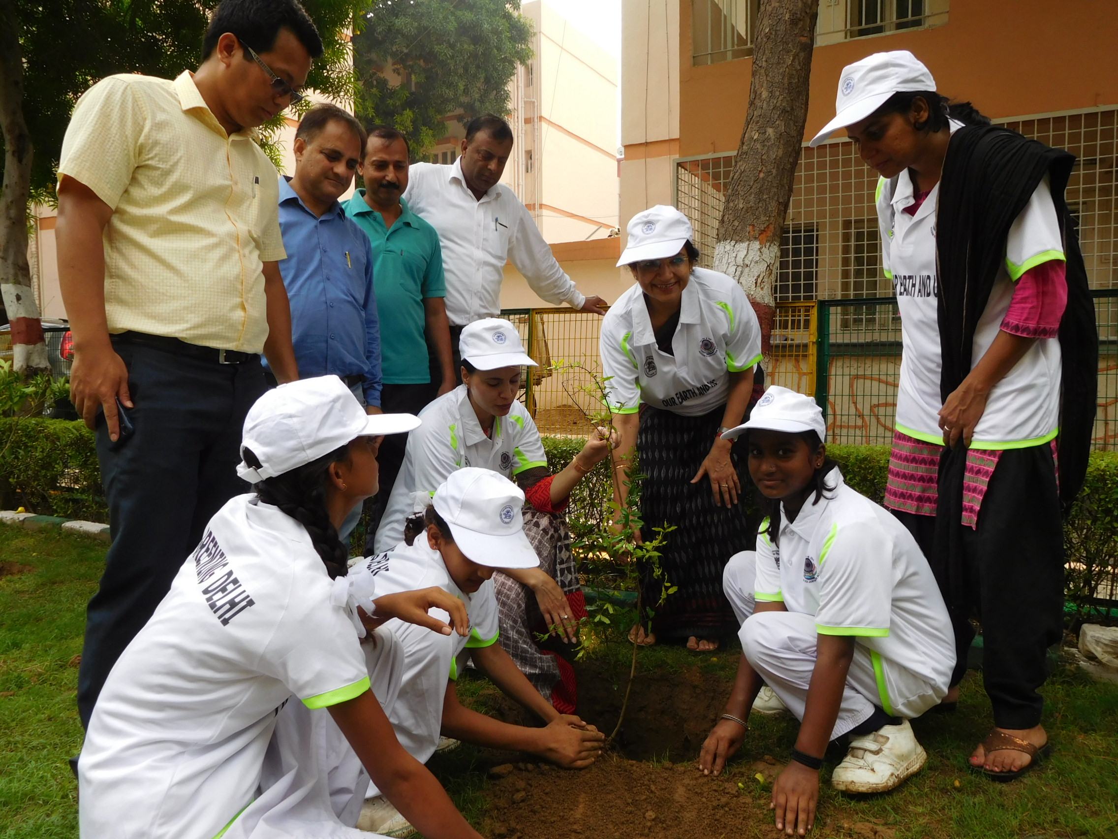 Awareness Programme on Greening Delhi Project