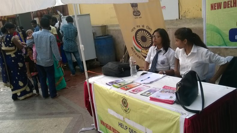 ON 29.09.2017, A Legal Awareness Programme was conducted NDDLSA at Birla Mandir to Spread Awareness among the people visting temple during the Festival Season.