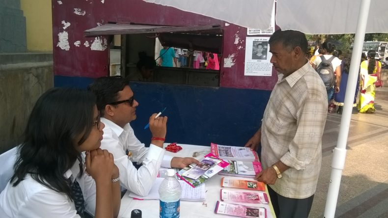 ON 28.09.2017, A Legal Awareness Programme was conducted NDDLSA at Birla Mandir to Spread Awareness among the people visting temple during the Festival Season.