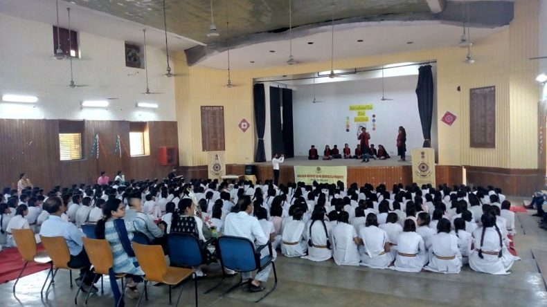 Legal Awareness Programme on International Day of Girl Child at N.P Co-ed Girls Sr. Sec. School, Lodhi Road on 11.10.2017. Sh. Chanderjit Singh Ld. Secretary delivered the lecture & Anjali Rajput, LAC as a Resource Person deliver a talk on Right of Girl Child.