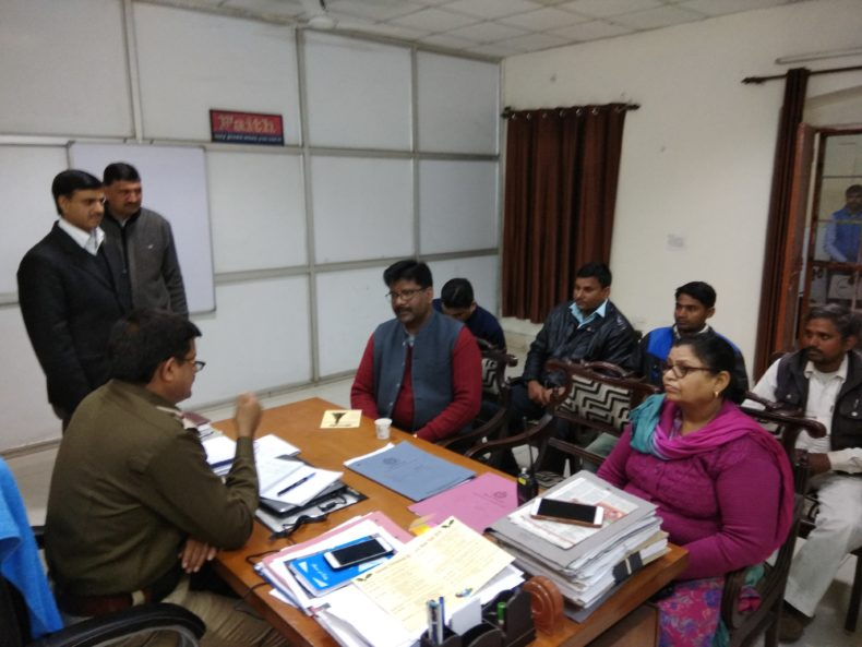 Awareness Programme at Delhi Cantt by Amarender Choubey LAC.